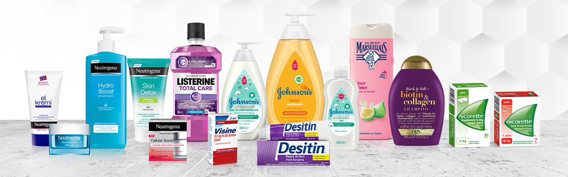 Johnson & Johnson Tüm Markaları