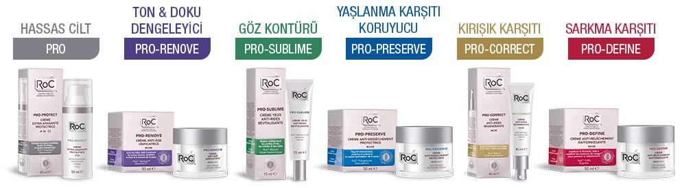 RoC Antiaging Ürünleri